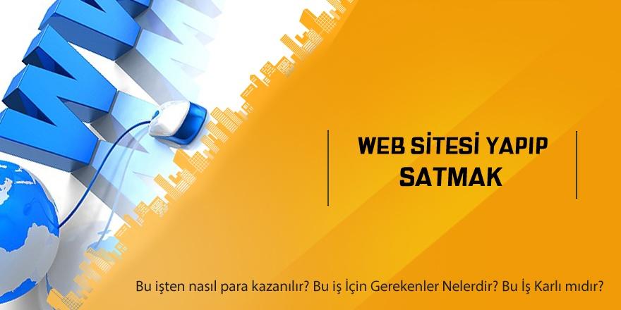 Web Sitesi Yapıp Satmak