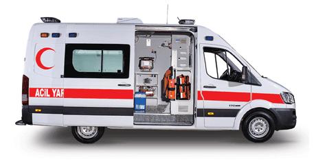 ambulans şoförü alımı