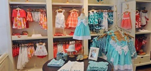 bebek giyim mağazası